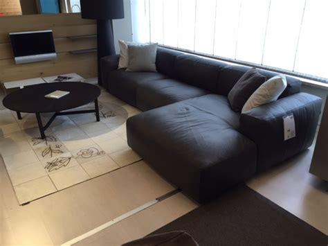 divano piuma divano nicoline modello piuma in pelle con penisola