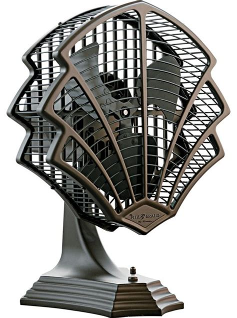 modern wall fans contemporary fanimation fitzgerald rubbed bronze desk