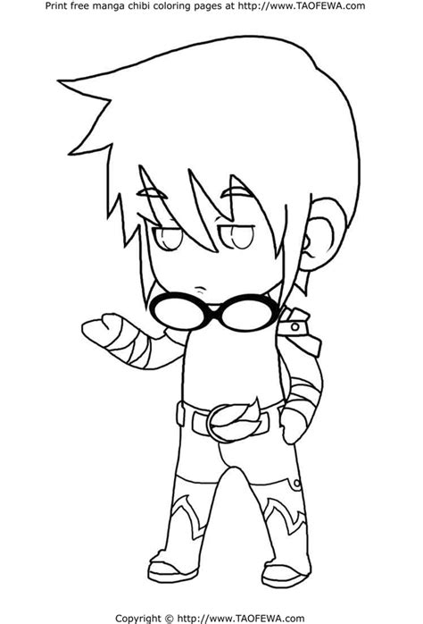 chibi boy coloring pages free coloring pages of cute anime boys