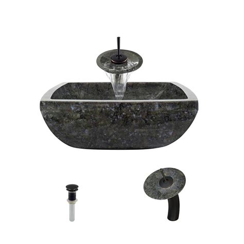 mr direct sinks and faucets mr direct stone vessel in butterfly blue granite with