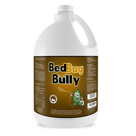 bed bug chemicals bed bug bully 1 gallon bed bug treatment