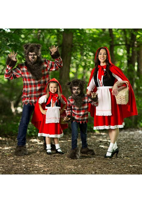 deluxe child  red riding hood costume