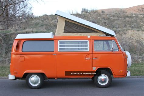 1973 Vw Bus Westfalia Cmobile Volkswagen
