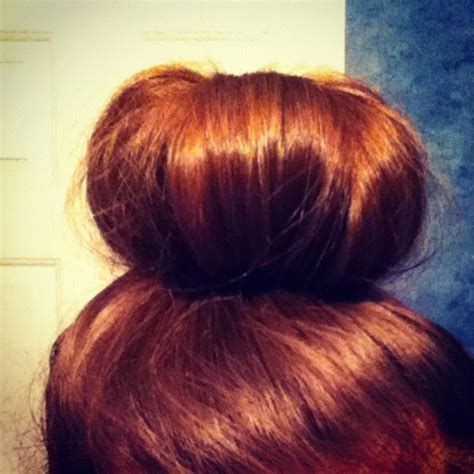 pin by heather mcbride on projects to try pinterest sock bun did this with my hair yesterday great easy style for long thick hair love for the