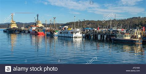 fishing boats harbour australia stock photos fishing - Fishing At Boat Harbour Nsw