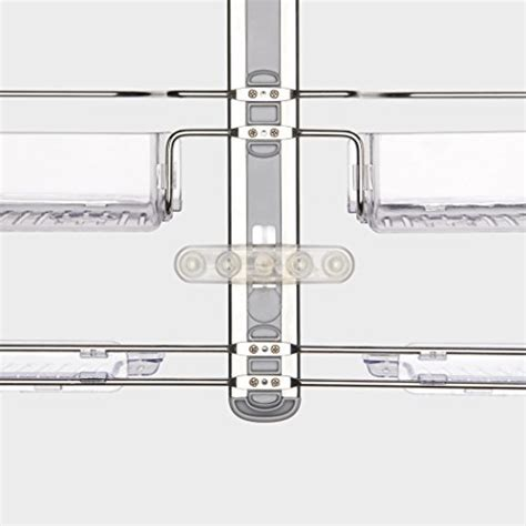 Oxo Shower Shelf by Oxo Grips Shower Caddy With Hose Keeper Hardware
