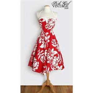 1950 s alfred shaheen red hawaiian dress 1950 s red alfred shaheen