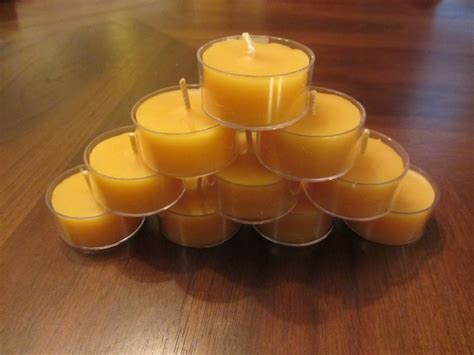 Bulk Candles Tealight Beeswax Candles In Bulk Of 20