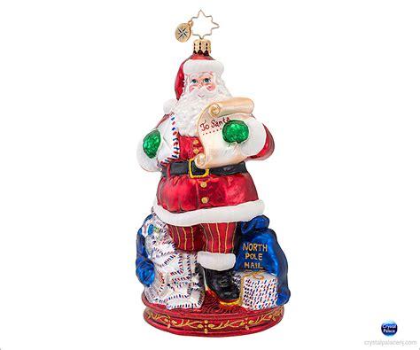 Radko Ornaments Sale - christopher radko mail call ornament