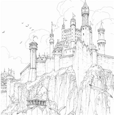 thrones colouring book images of thrones coloring book gets grrm s approval