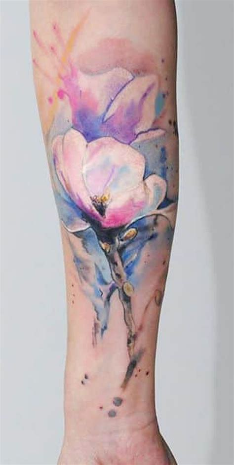 watercolor style tattoo sleeve 30 of the top trending design ideas of 2018 for