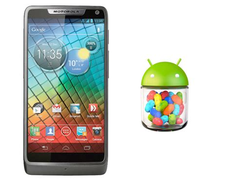 Hp Motorola Android Jelly Bean equipos motorola que ser 225 n actualizados a android 4 1 jelly bean