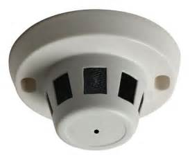 Commercial Bookshelves Smoke Detector Camera