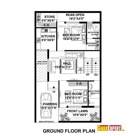 home design for 30x50 plot size house plan for 30 feet by 50 feet plot plot size 167