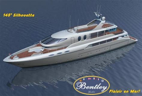 bentley yachts 44m silhouette