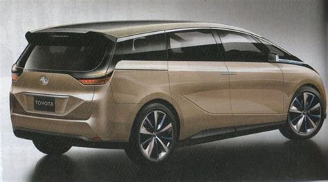 Toyota Estima 2020 by 集历来大成 Toyota Estima 新世代细节曝光 Automachi