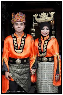 Baju Etnik Bajau tinta nyna pakaian tradisi orang sabah bajau
