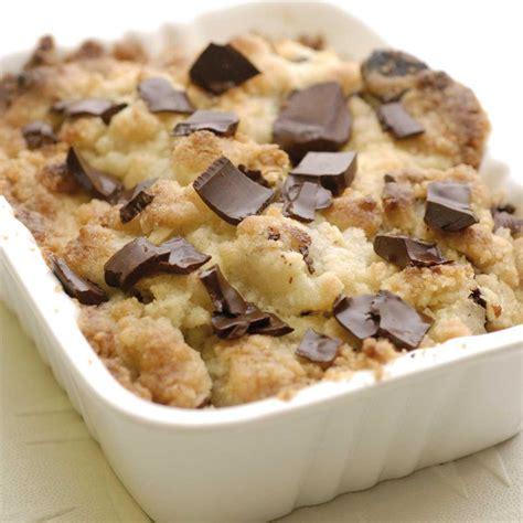 recettes maxi cuisine dessert recette crumble poire chocolat et noisettes cuisine