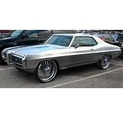 Rides Plies 1968 Pontiac Grand Pric Chrome Paint 1