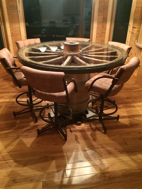 Wagon Wheel Table by 25 Best Ideas About Wagon Wheel Table On