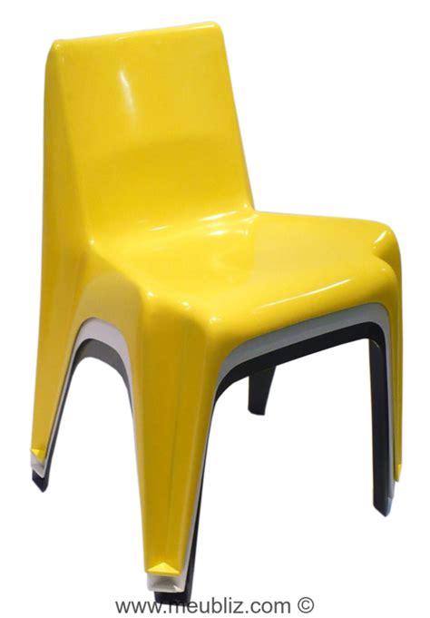 chaise de bébé chaise empilable bofinger ba 1171 par helmut b 228 tzner