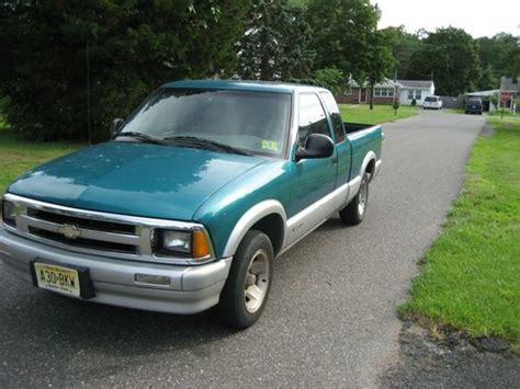 1996 chevrolet s10 purchase used 1996 chevrolet s10 ls extended cab 2