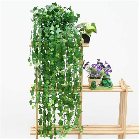 artificial plant decoration home boston ivy artificial fake leaf garland plant vine foliage