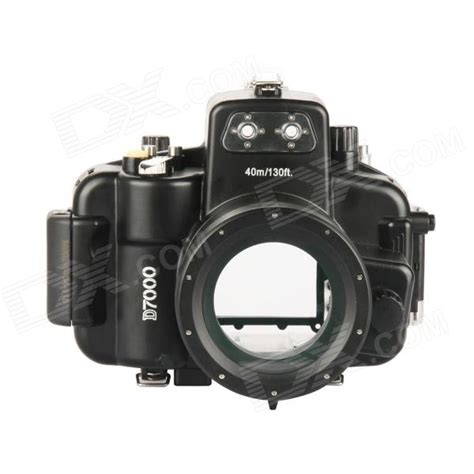 meikon underwater diving waterproof cover for nikon d7000 18 55 black free