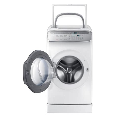 samsung 5 5 total cu ft high efficiency flexwash washer