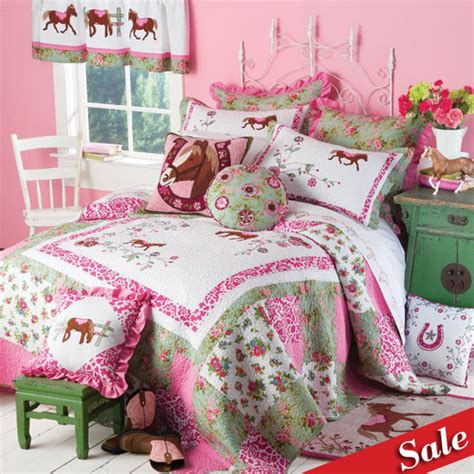 pony bedding sale pink pony petals bedding collection