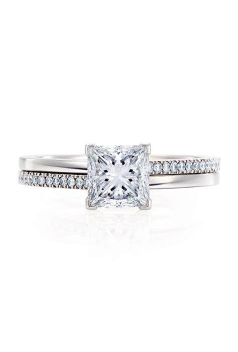 de beers the promise princess engagement rings photos