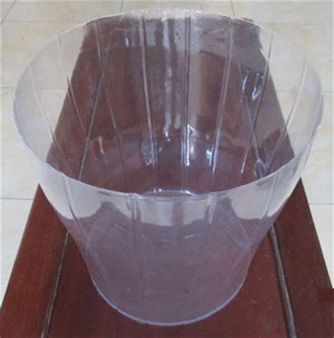 Clear Plastic Planter Liners by Basket Plastic Liner From Yongkang Lujiang Industry