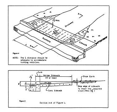 residential driveway design standards pilotproject org