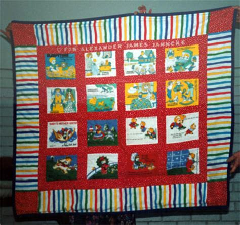 Story Quilt by Click Here To Get Back To The Gallery