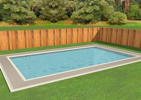 Diy Inground Pool Installation How To Build A Backyard Pool