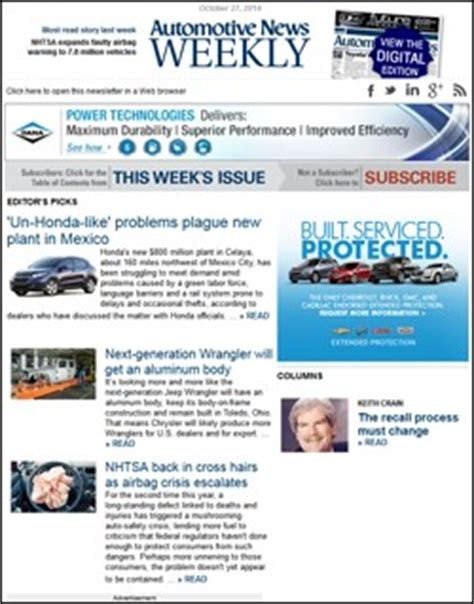 Fordpass Forges Into Tech Arena Car Sales Newsletter Template