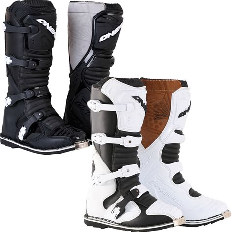 oneal motocross boots oneal taranis off road mx steel toe cap enduro dirt bike