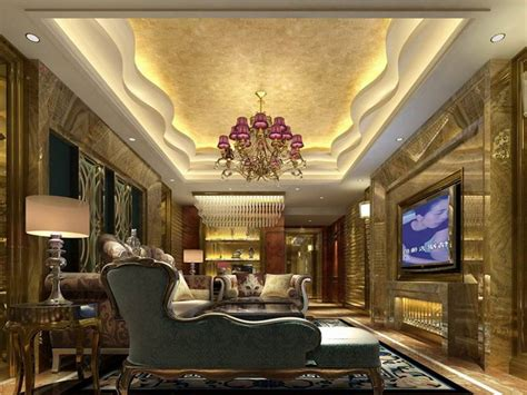 Gypsum Interior Ceiling Design by Gypsum Ceiling Design To Create Luxury Home Interior 4