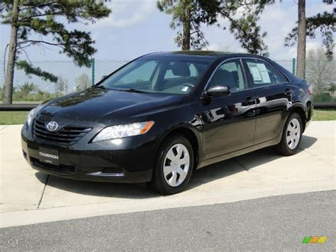 2008 toyota camry le black 2008 toyota camry le exterior photo 47075741