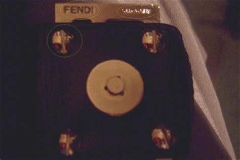 Fendi Mix Spot Hologram Bag by Fendi Hologram Sticker Spot A Phony Fendi Label