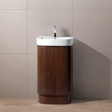 18 Inch Vanities For Bathrooms Vigo 20 Quot Calantha Single Bathroom Vanity Wenge Free Shipping Modern Bathroom
