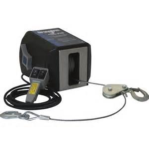 Dutton lainson strongarm 120 volt ac powered strongarm electric winch