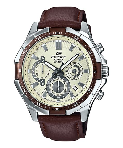 Casio Edifice Efr 553 Leather Brown Silver casio edifice efr 554l 7av for price in pakistan with free shipping available pk