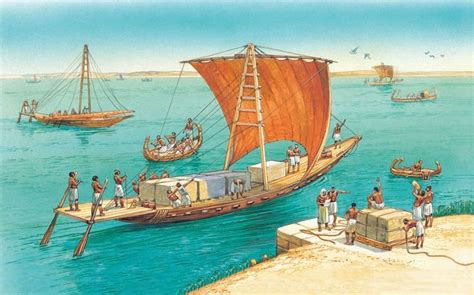 ancient egypt boats and transportation 1000 images about egyptian dreams on pinterest temples