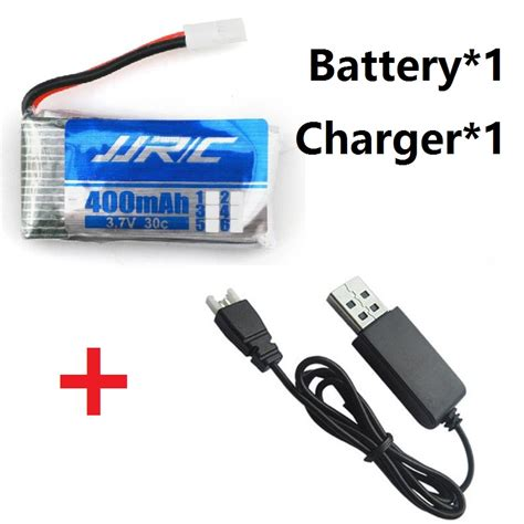 Battery Jjrc H31 400mah 1pcs original battery and charger jjrc h31 spare parts 3 7v 400mah h31 011 lipo battery 3 7 v