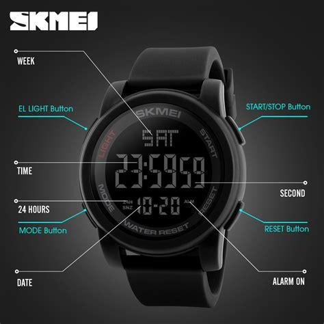 Skmei Jam Tangan Digital skmei jam tangan digital pria dg1257 black