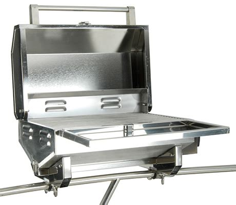 gas grill for boat boat barbecue grill by bianchi