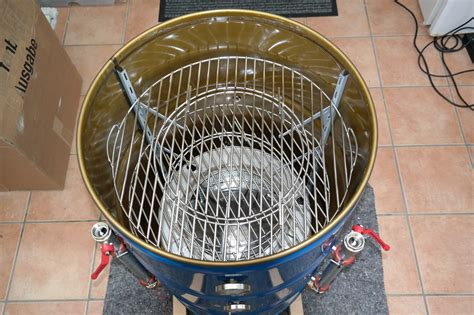 Uds Smoker Zuluft by Drum Smoker Uds Feuerkind