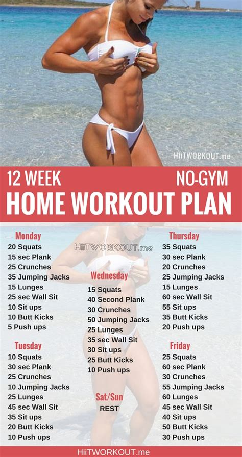 12 week no gym home workout plans military diet 12 week no gym weight loss workout plan hiit workout