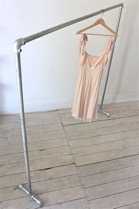 Metal Clothing Racks by Galvanised Steel Pipe Simple Freestanding By